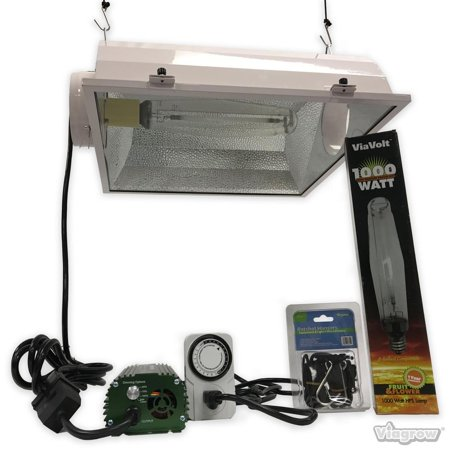 6 in. 1000-Watt Electronic HPS/MH Smart Sun AC Grow Light System Remote Ballast