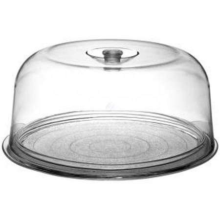 Ginevra Cake Plate with Plastic Dome - 11.75