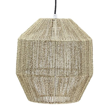 American Art Decor Swag Style Hemp Rope Hanging Pendant Lamp (12.5