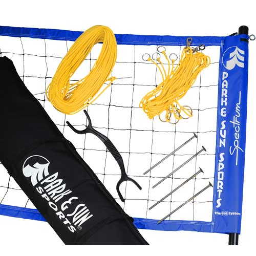 Park and Sun Sports Spectrum 2000 Outdoor Volleyball Set