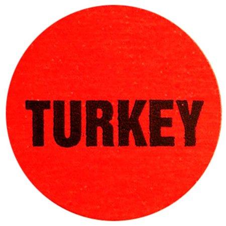 Deli Dot Turkey Food Packaging Labels 1