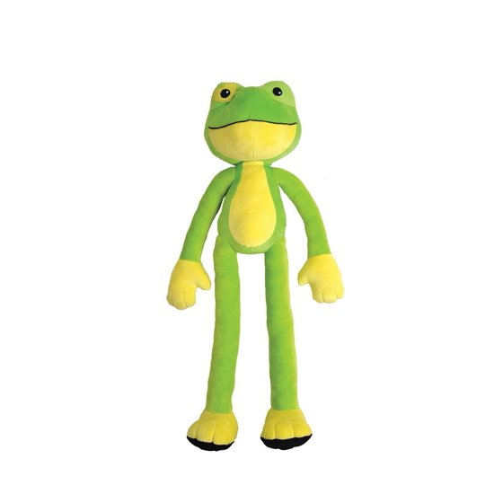 Stretchkins Frog Life Size Plush Toy That You Can Play Dance