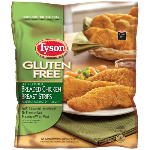 Boneless skinless chicken breast strips tyson