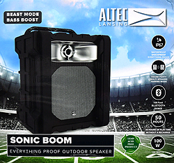 Altec Lansing Sonic Boom Tailgate Bt Speaker by Altec Lancing