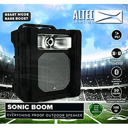 Altec Lansing Sonic Boom Tailgate Bt Speaker