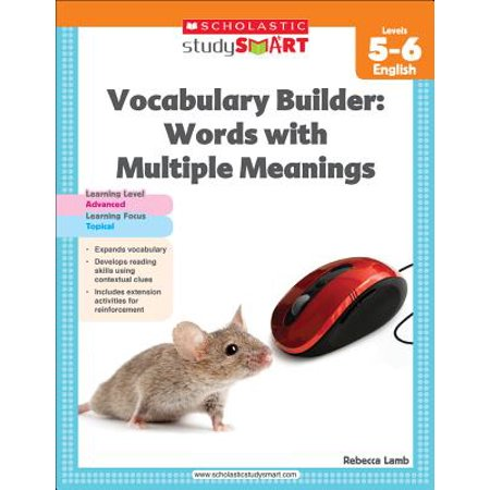 Vocabulary Builder: Words with Multiple Meanings, Level 5-6