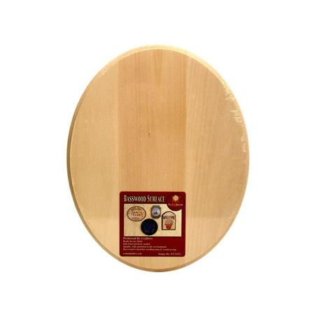 Oval House Plaque (Walnut Hollow Plaque Basswood Oval)