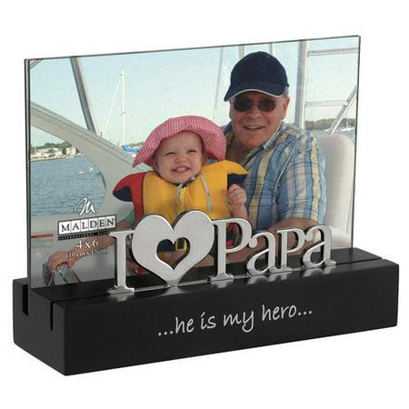 malden desktop expressions i love papa picture frame