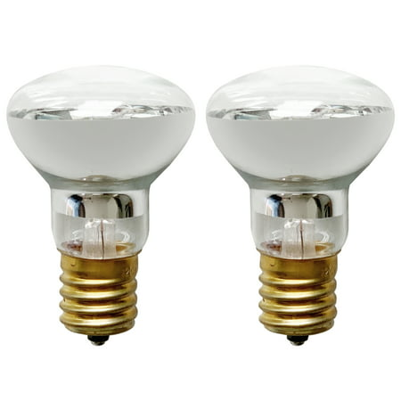 Set of 2 R39 E17 Replacement Light Bulb Motion Lamp 30 Watt Reflector Type