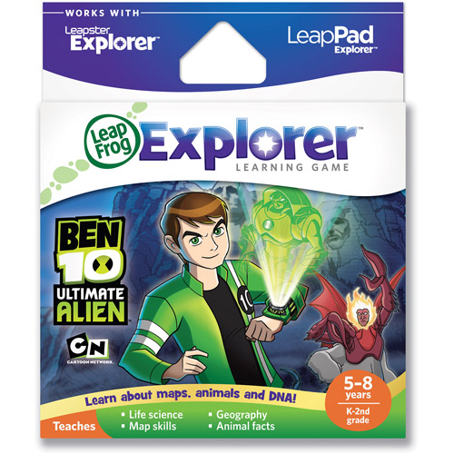 LeapFrog Explorer & LeapPad Learning Game: Ben 10