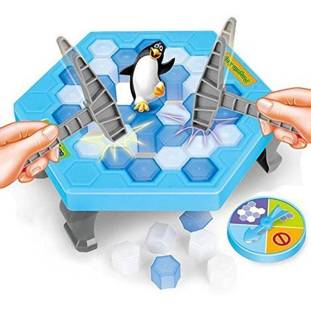 Magik Save Penguin On Ice Game Penguin Trap Party Ice Breaking Crashed Ice Knocking](Club Penguin Halloween Party Game On)