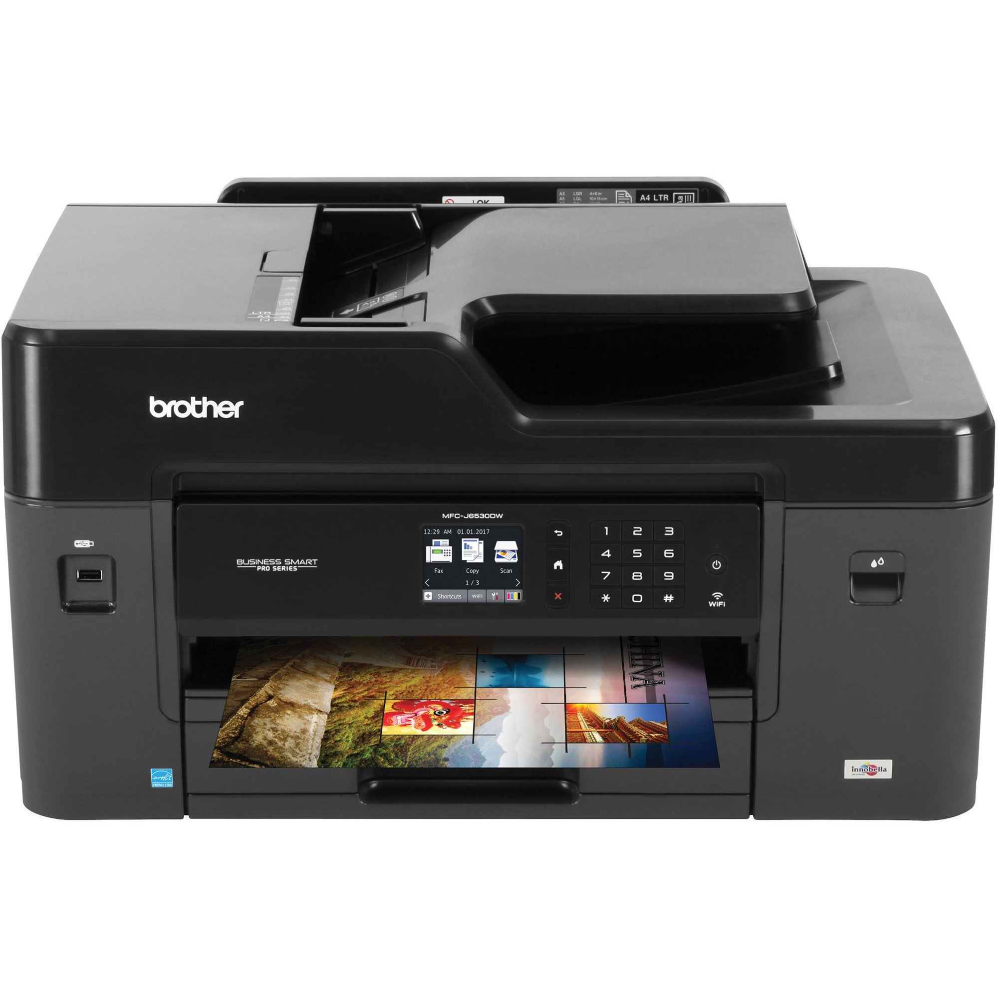 Brother Business Smart Pro Mfc J6530dw Color All In One Copy Fax