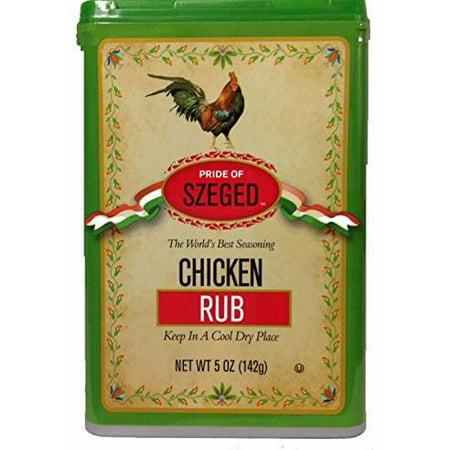 Chicken Rub Seasoning (szeged) 5 oz
