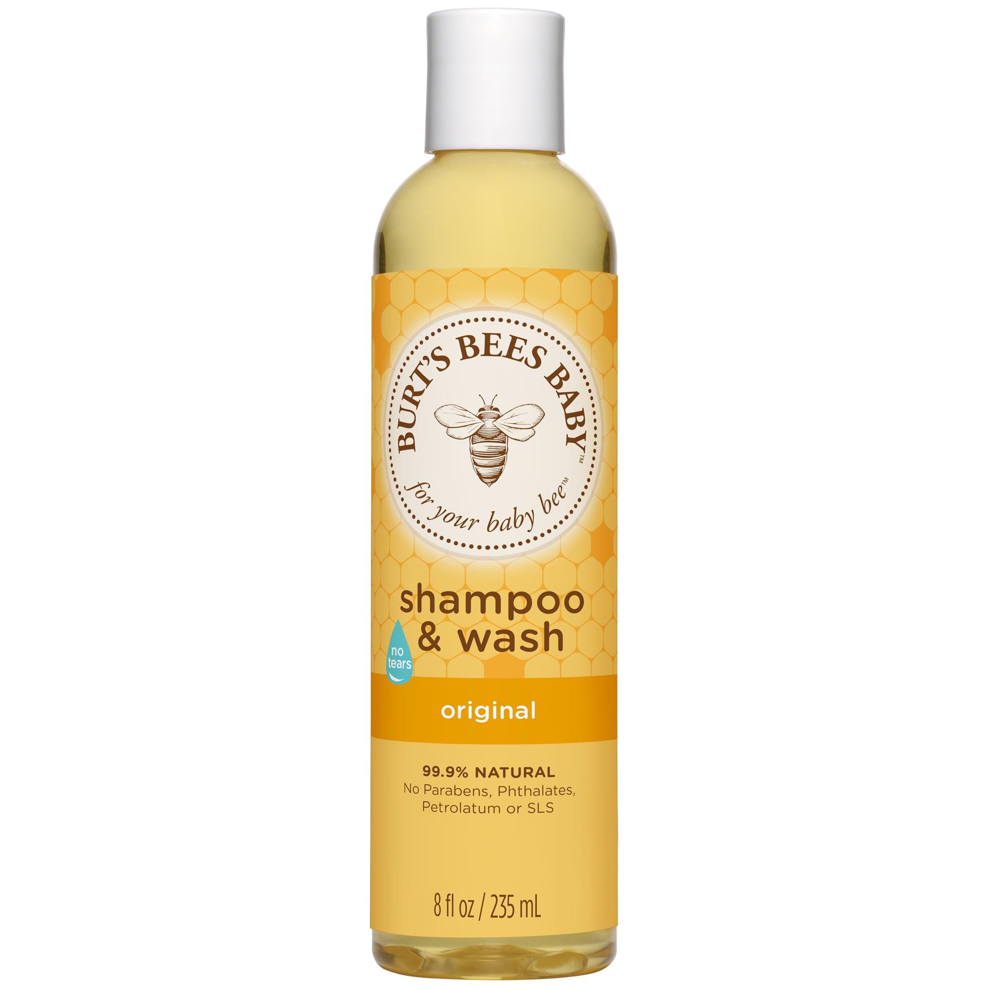Burt's Bees Baby Shampoo & Wash, Original Tear Free Baby Soap 8 oz Bottle by Burt%27s Bees Baby