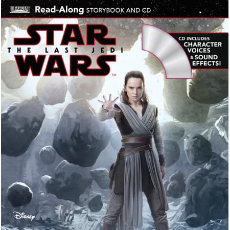Star Wars: The Last Jedi Star Wars: The Last Jedi Read-Along Storybook and CD - Halloween Read Along Stories