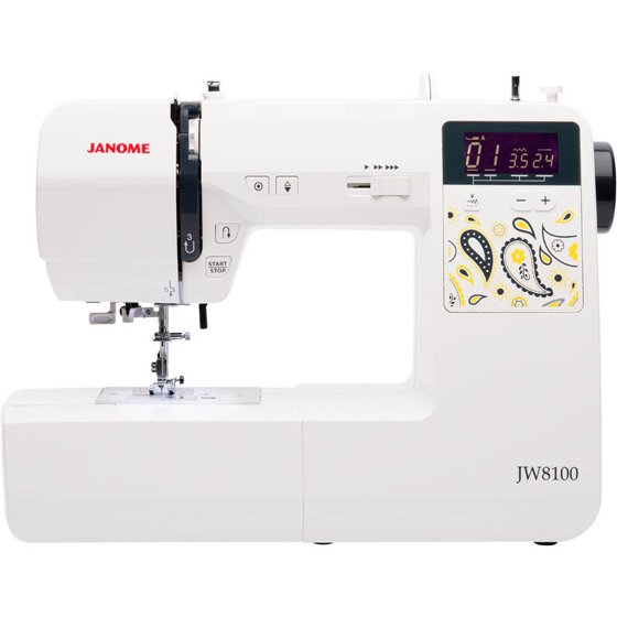 Janome JW8100 Fully-Featured Computerized Sewing Machine with 100 ...