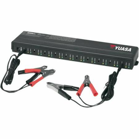 Yuasa YUA122500 10-Bank Battery Maintainer