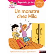 Un monstre chez Mila - Regarde, je lis - Lecture CP Niveau 2 - eBook