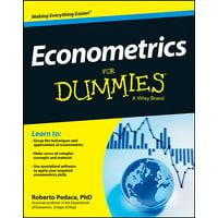 For Dummies: Econometrics for Dummies (Paperback)