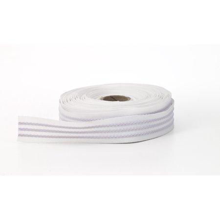 3 Strand grip tape, White, 100% elastic - 10 (Ac Tape Elastic)
