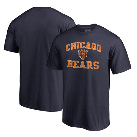 Chicago Bears NFL Pro Line by Fanatics Branded Vintage Collection Victory Arch T-Shirt - Navy (Macys Chicago)