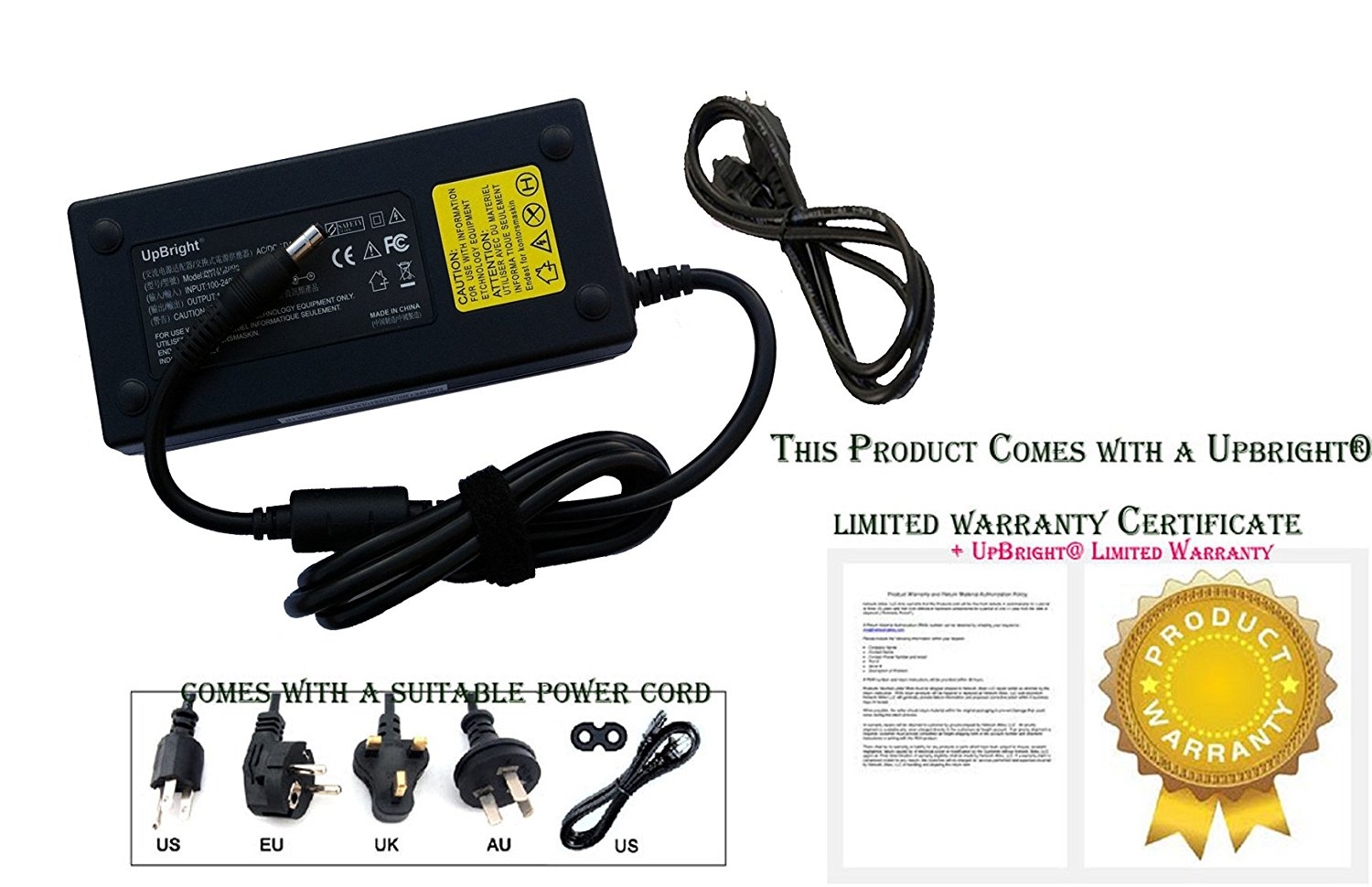 17.3 Gaming Laptop Notebook PC Power Supply Cord Cable PS Charger Mains PSU AT LCC AC//DC Adapter for Asus ROG G751JL-BBI7T29 G751JL-WH71 WX