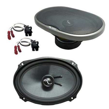 Fits Cadillac Coupe DeVille 1990-1993 Rear Deck Replacement HA-C69 Premium Speakers New