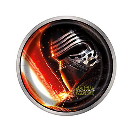 Star Wars Episode 7 Dessert Plates, 7-Inches, 8-Count - Star Wars Party Plates