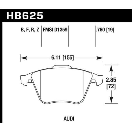 Hawk Performance Ceramic Street Brake -