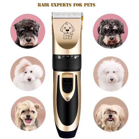 Pet Grooming Kit Electric Pet Clipper Professional Mute Cordless Pet Cat Dog Hair Trimmer Shaver Cutting Set - image 6 of 7