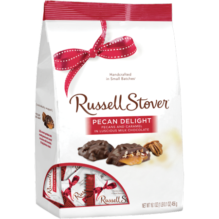Russell Stover Pecan Delight Gusset Bag, 16.1 Oz