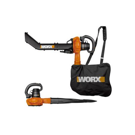 Worx 12a 2 Speed Electric Blower Mulcher Vac Metal