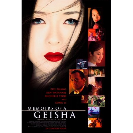 Memoirs of a Geisha (2005) 11x17 Movie Poster