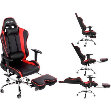Merax High Back Erogonomic Racing Style Computer Gaming Office Chair  Recliner  YellowMerax High Back Erogonomic Racing Style Computer Gaming Office  . Office Chair Recline. Home Design Ideas