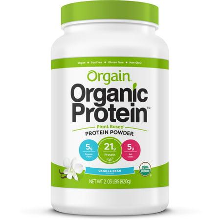 Orgain Organic Plant Based Protein Powder  2 03 Lb  Click To Choose Flavor