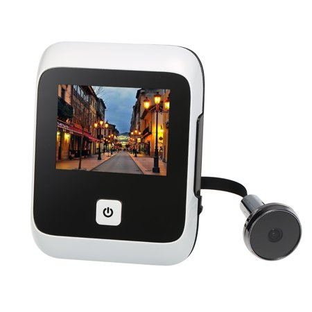 3.0 inch TFT LCD Visible Digital Door Doorbell 120 Degree Viewing Angle Peephole Viewer Door Eye Doorbell Stealth Camera Integrated Battery Storehouse(Batteries are not included) for Home - image 2 of 7