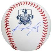 David Ortiz Boston Red Sox Fanatics Authentic Autographed Retirement Logo Baseball - No Size