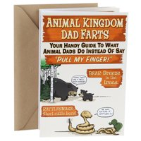 Hallmark Funny Father's Day Card (Animal Kingdom Dad Farts)