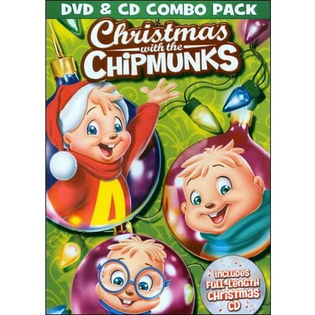 alvin and the chipmunks christmas with the chipmunks dvd cd full - Chipmunks Christmas