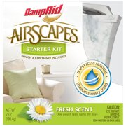 DampRid AirScapes Fresh Scent Starter Kit, 2 pc
