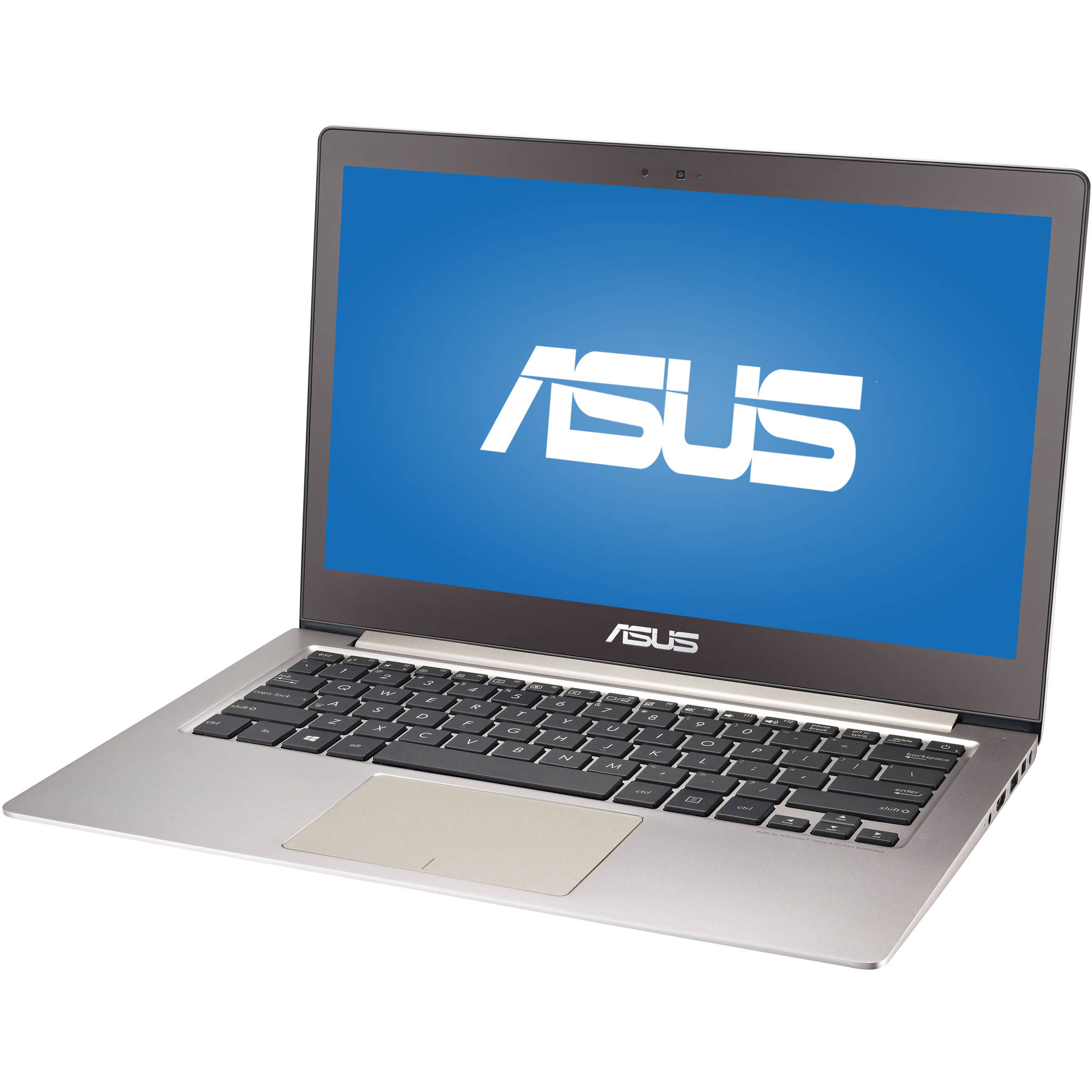 """ASUS Smokey Brown 13.3"""" ZENBOOK UX303UA-YS51 Laptop PC with Intel Core i5-6200U Processor, 4GB Memory, 128GB Solid State Drive and Windows 10 Home"""