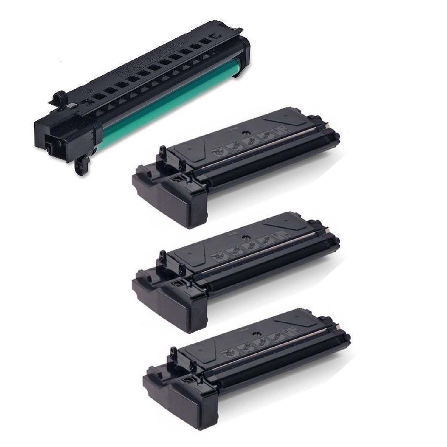 Office Mountain 2-Pack Remanufactured Black Toner & Drum Cartridge Xerox 106R00584 + 113R00663 for Xerox... by Office Mountain