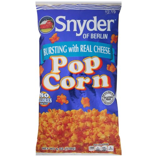 Snyder of Berlin Popcorn, 6 oz