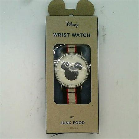 Mickey Mouse Wrist Watch - Junk Food Disney Wrist Watch - Mickey Mouse Silhouette