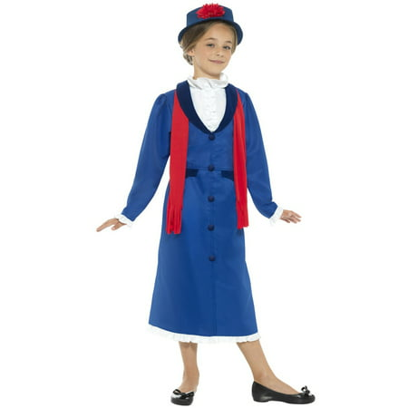 Victorian Nanny Child Costume (English Nanny Costume)