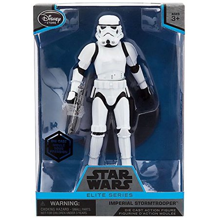 Star Wars Imperial Stormtrooper Elite Series Die Cast Action Figure - 6 1/2 Inch - Rogue One: A Star Wars Story](Imperial Stormtrooper)