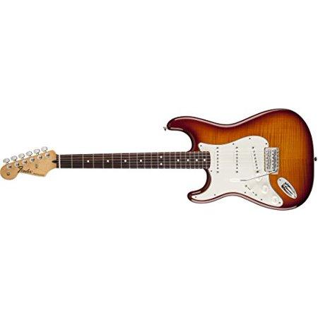 Fender Standard Stratocaster Electric Guitar 1 - Tobacco Sunburst, Left Handed