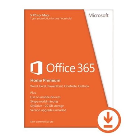 microsoft office 365 home premium 32 bitx64 all lan email delivery