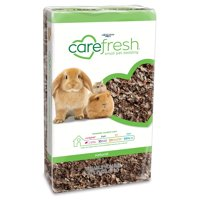 Carefresh Natural Small Pet Bedding, ComfyFluff paper provides pillowy softness