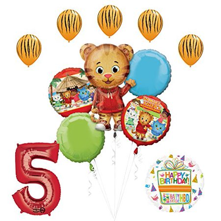 The Ultimate Daniel Tiger Neighborhood 5th Birthday Party Supplies (Daniel Tiger Birthday Supplies)